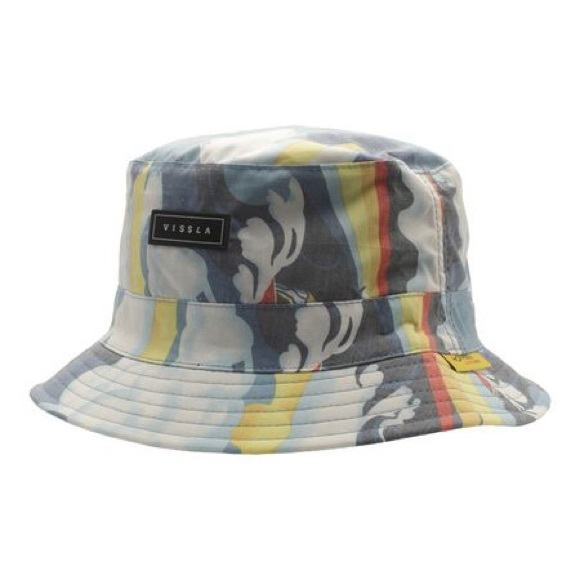 1ae72f7588d662 VISSLA Accessories | Liquid Rollers Reversible Bucket Hat | Poshmark